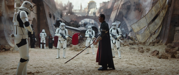 Rogue One: A Star Wars Story (Donnie Yen) Ph: Film Frame ©Lucasfilm LFL